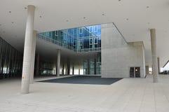 Modern architecture: Salzburg university, Austria Stock Images