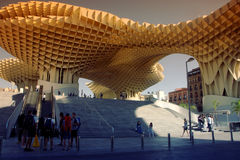 Modern architecture in Seville Royalty Free Stock Photography