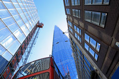 Modern architecture, The Shard, London Stock Photos