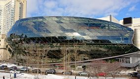 The Shaw Centre, formerly the Ottawa Convention Centre,. Modern architecture of The Shaw Centre, formerly the Ottawa Convention Centre stock photography