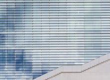 Modern architecture, sky reflection in windows /  glass facade Stock Photos
