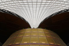 Modern architecture skylight framework Stock Photo