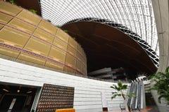 Modern architecture skylight framework Stock Image