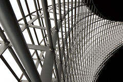 Modern building steel architecture Royalty Free Stock Photos