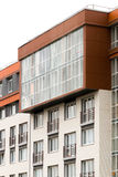 Modern architecture. Social housing. Nakhabino. Suburbs of Moscow Russia Stock Photography