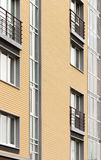 Modern architecture. Social housing. Nakhabino. Suburbs of Moscow Russia Royalty Free Stock Photos