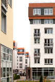 Modern architecture. Social housing. Nakhabino. Suburbs of Moscow Russia Royalty Free Stock Images