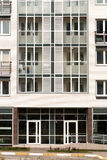Modern architecture. Social housing. Stock Image