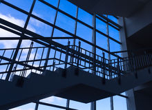 Modern architecture staircase Royalty Free Stock Photography