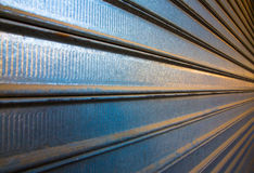 Modern architecture of steel wall Stock Photo