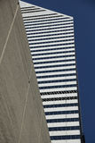 Urban Abstract. Modern Architecture structure in Chicago downtown Stock Photos