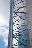Modern Architecture Struts Stock Photo