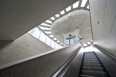Modern architecture subway station Royalty Free Stock Images