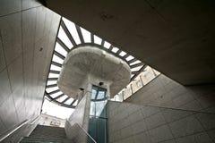 Modern architecture subway station Stock Photography
