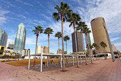 Modern Architecture in of Tampa, Florida USA Royalty Free Stock Photography
