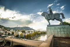 Modern architecture Tbilisi Stock Photography
