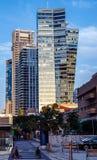 Modern architecture in Tel Aviv Royalty Free Stock Image