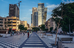 Modern architecture in Tel Aviv Royalty Free Stock Images