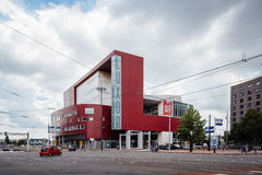 Modern architecture Theater in Rotterdam Stock Image