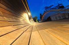 Modern architecture at twilight Stock Photography