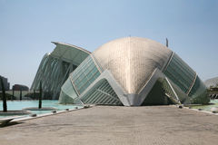 Modern architecture in Valencia Royalty Free Stock Photos
