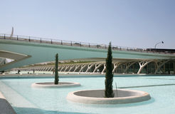 Modern architecture in Valencia Stock Images