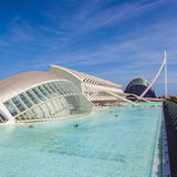 Modern Architecture in Valencia Stock Image