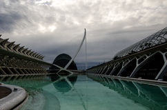 Modern architecture in Valencia Royalty Free Stock Photo