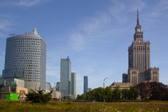 Modern architecture in Warsaw Stock Photos
