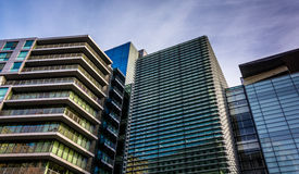 Modern architecture in Washington, DC. Royalty Free Stock Photo