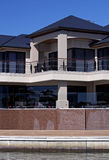 Modern Architecture, Waterside living Royalty Free Stock Image