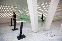 Modern architectuurbinnenland royalty-vrije stock afbeeldingen