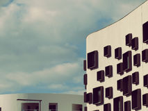Modern architectuurconcept Royalty-vrije Stock Afbeelding