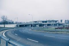 Modern architekture i Wroclaw Polen Fotografering för Bildbyråer