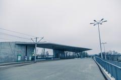 Modern architekture i Wroclaw Polen Royaltyfri Foto