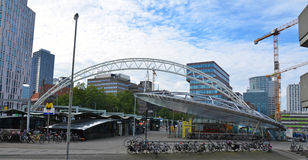 Modern area in Rotterdam, Holland Royalty Free Stock Photo