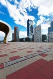 Modern area in Wien. Skyline in modern area in Wien Royalty Free Stock Images