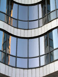 Modern arhitecture. Details of beautiful glasses house royalty free stock photos
