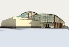modern arkitektur Arkivbilder