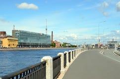 Modern arkitektur av St Petersburg Royaltyfri Bild