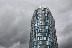 Modern arkitektur för UK Arkivbild