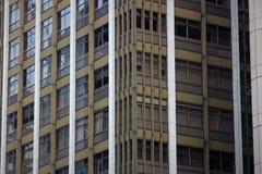 Modern arkitektur i byggnad stort Arkivbilder