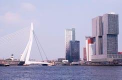 Modern arkitektur i en europeisk stad Royaltyfri Bild
