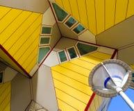 Modern arkitektur i Rotterdam Royaltyfri Fotografi