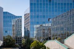 Modern arkitektur i Toulouse, Frankrike Arkivfoton