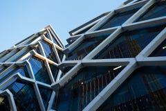 Modern arkitektur nära Darling Harbour, Sydney Arkivbild