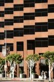 Modern arkitektur på den Wilshire boulevarden arkivbilder