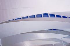 Modern arkitektur på flygplatsräckestation Royaltyfria Foton