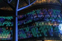 Modern arkitektur Singapore Royaltyfri Foto