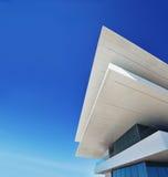 modern arkitekturbyggnad Arkivbild